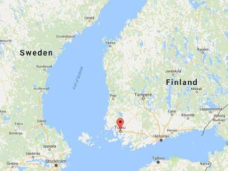 A number of people have been stabbed in Turku, which is in the south west of Finland.