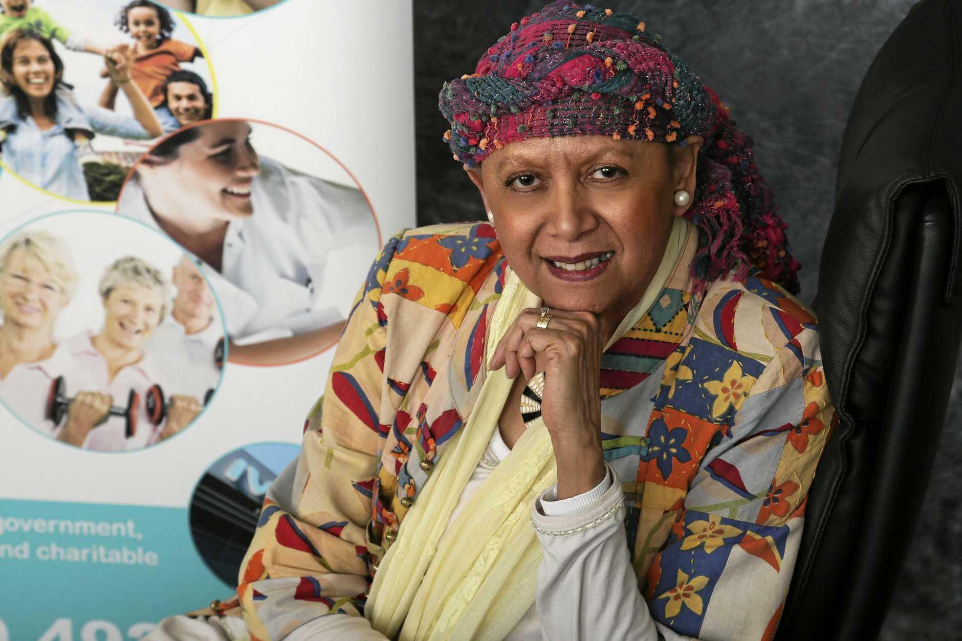 NATIONAL AUDIENCE: IWC director Aunty Cheri Yavu-Kama-Harathunian will make several presentations at the Brisbane conference.