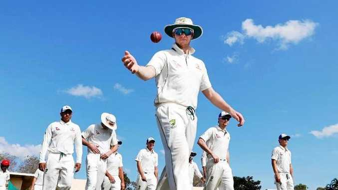READY FOR ACTION: Steve Smith will lead the Aussies in the two-Test series against Bangladesh and fans can watch limited coverage on Fox Sports
