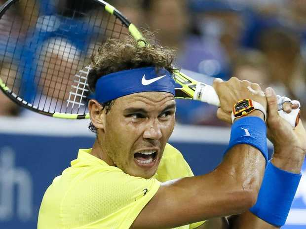 BRISBANE BOUND: Rafael Nadal has confirmed he will play in this year's Brisbane International tournament.