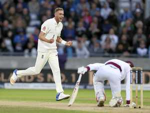 Broad steers England to three-day win over Windies