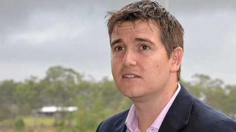 Livingstone Shire acting mayor Nigel Hutton.