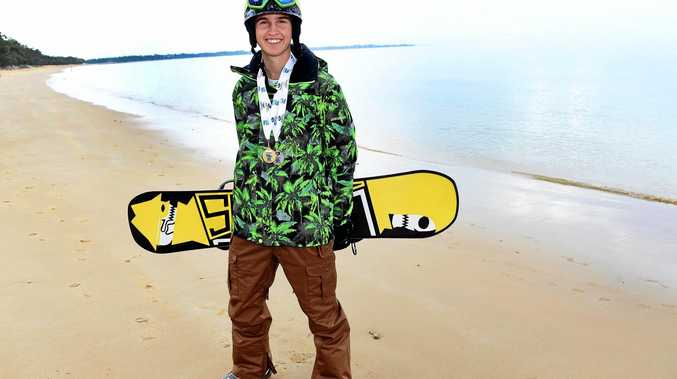 Benji Bodie has been selected in the Queensland snowboarding team for the Nationals.
