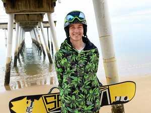 Hervey Bay snowboarder Benji Bodie