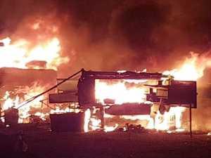 Campsite inferno, bushfires sparks urgent fire warning