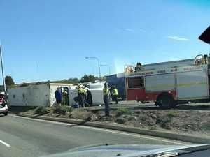 Driver injured in rollover on Granard Road