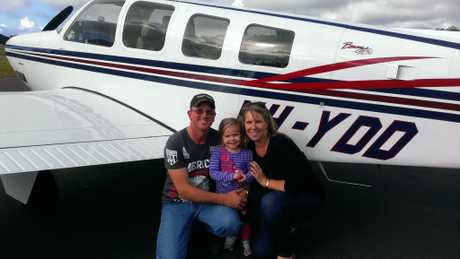 FLYING HIGH: New Acland Coal Mine worker Mark Guth loves flying, and has been with the Darling Downs Aero Club for 15 years.