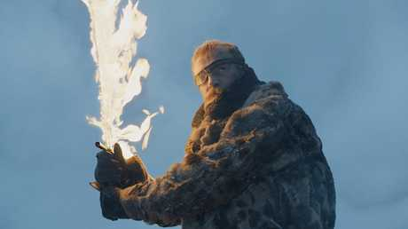 Richard Dormer in a scene from Game of Thrones.