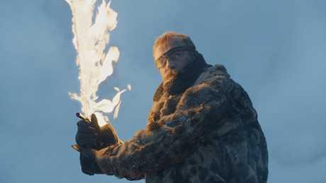 Richard Dormer in a scene from Game of Thrones.