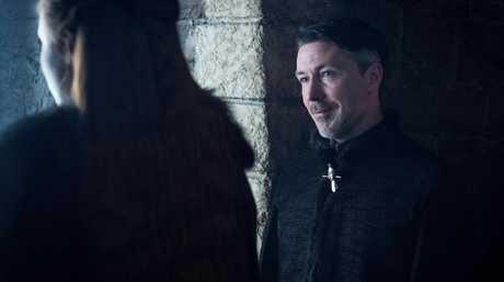 Aidan Gillen in a scene from season 7 of Game of Thrones.
