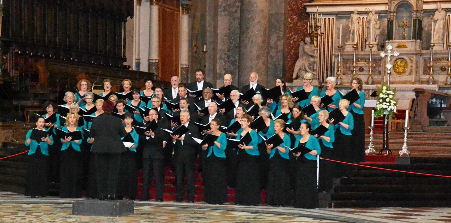 Sunshine Coast Oriana Choir.