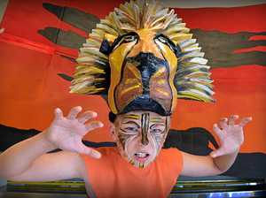 Pacific Paradise State School is preparing for the production of The Lion King Jnr. Kobi Rochford will play the role of Simba.