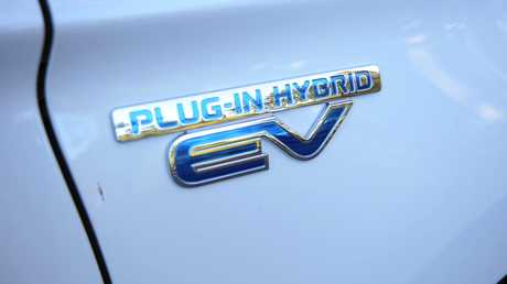 The 2017 Mitsubishi Outlander PHEV.