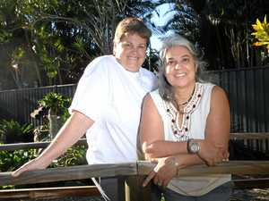 Rosa Caceres and Julie Robinson are disappointed the Federal Government hasn't opted for a free vote on marriage equality.