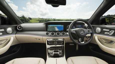 The Mercedes-Benz E220d All-Terrain.