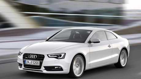 The 2014 Audi A5 Coupe,