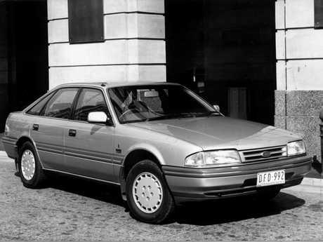 A Ford Telstar.