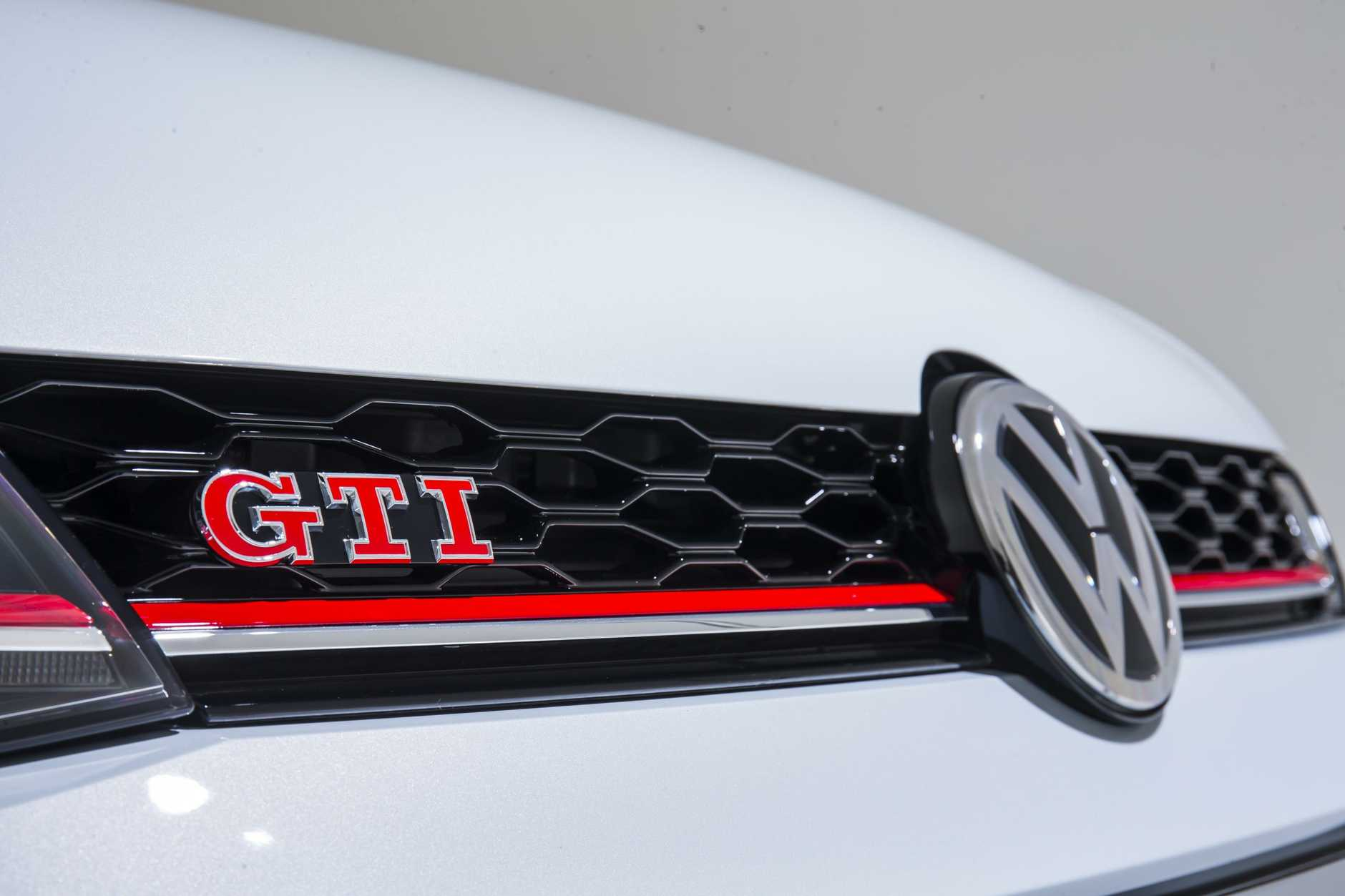 The the 2017 Volkswagen Golf GTI.