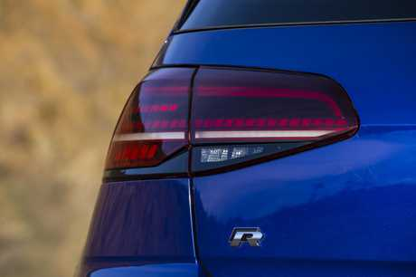 The 2017 Volkswagen Golf R.