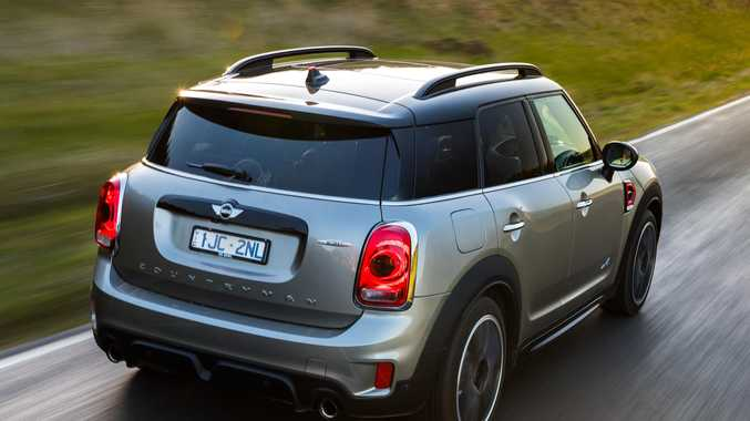 The 2017 Mini JCW Countryman.
