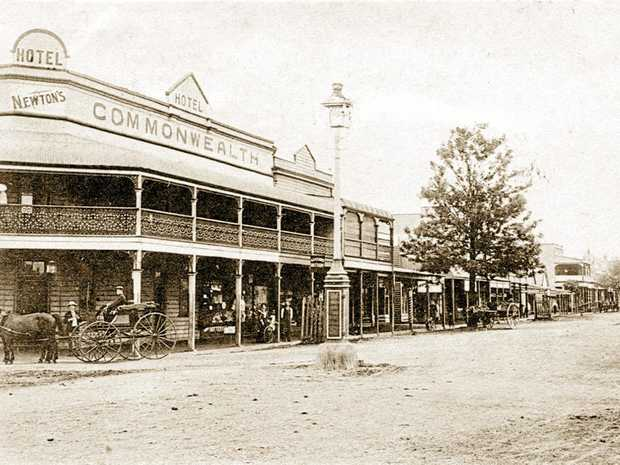 NEWSWORTHY: Walker Street Casino, 1907 where the office of the Casino and Kyogle Courier was situated.
