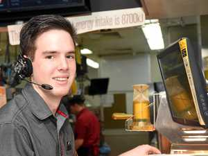 Meet Maryborough McDonald's youngest shift manager