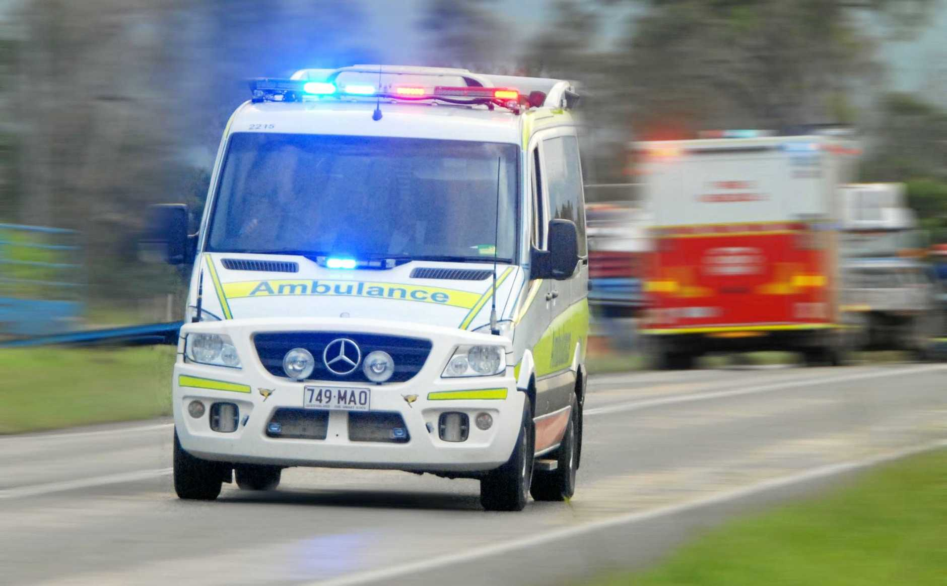 Three teens have been hospitalised after a crash on the Coast.