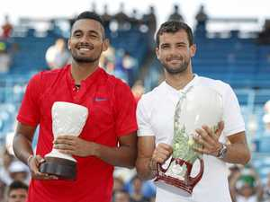 Kyrgios overpowered in Cincinnati Open final