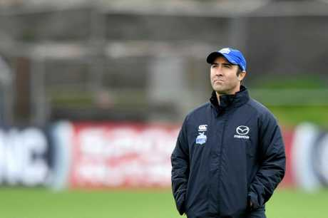 North Melbourne Kangaroos coach Brad Scott