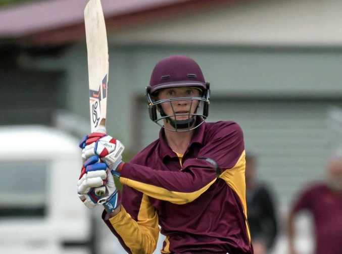 REP FORM: Jared Sippel played for Queensland at the national under-17 championships last season.