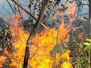 Fire crews take on solar panel blaze on the Sunshine Coast