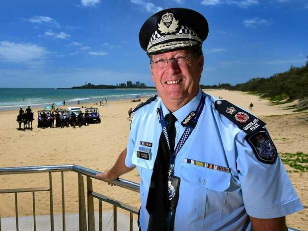 Queensland Police Commissioner Ian Stewart.