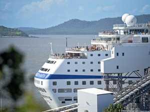 FILE PHOTO: P&O Cruise ship Pacific Dawn leaves the Gladstone port.