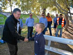 School shows its thanks at tradie barbecue