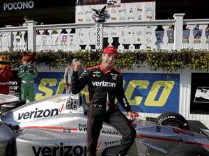 Power claims back-to-back race wins at Pocono