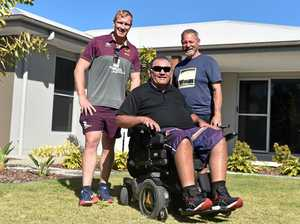 Community rallies for paralysed father of six