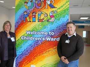 Bright new paediatric unit will ward off ills