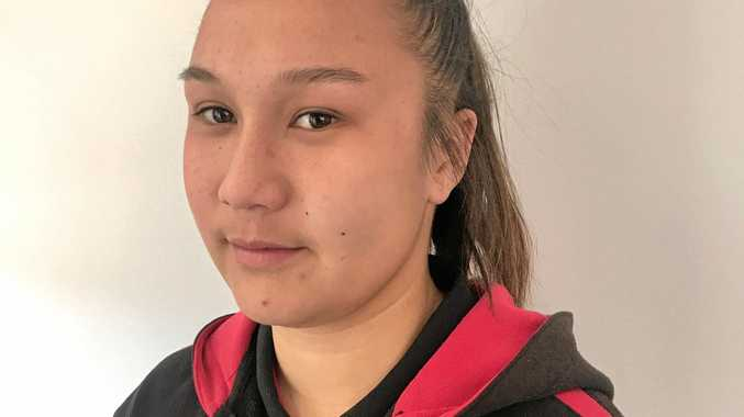 ONE PUNCH: Tamica Vo, 16, was taken to hospital after she claims she was punched in the face at a weekend rugby league game in Bundy.