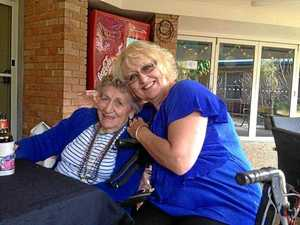 Marie Darragh and her daughter Charli Darragh at St Andrews nursing home in Ballina.