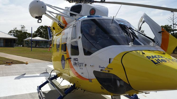 STORM DAMAGE: The boy was airlifted to the Lady Cilento Hospital with multiple serious injuries from the falling tree.
