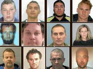 The 19 fugitives police are hunting: Do you recognise them?