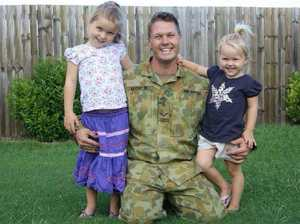 Daniel Leverton left behind two beloved daughters, aged 7 and 9 when he died suddenly in 2014.Source:Supplied