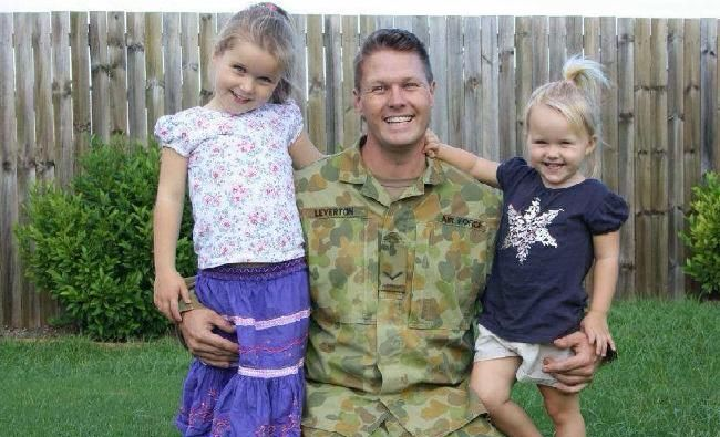 Daniel Leverton left behind two beloved daughters, aged 7 and 9 when he died suddenly in 2015.Source:Supplied