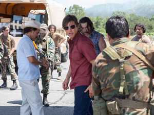 MOVIE REVIEW: Tom Cruise flying high again in drug drama