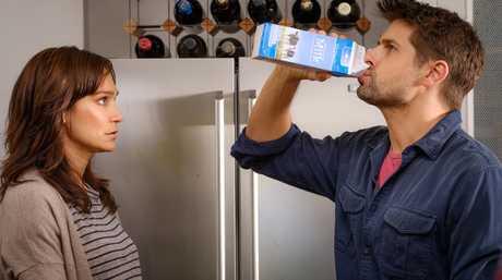 Nicole da Silva and Ryan Johnson in a scene from Doctor Doctor.