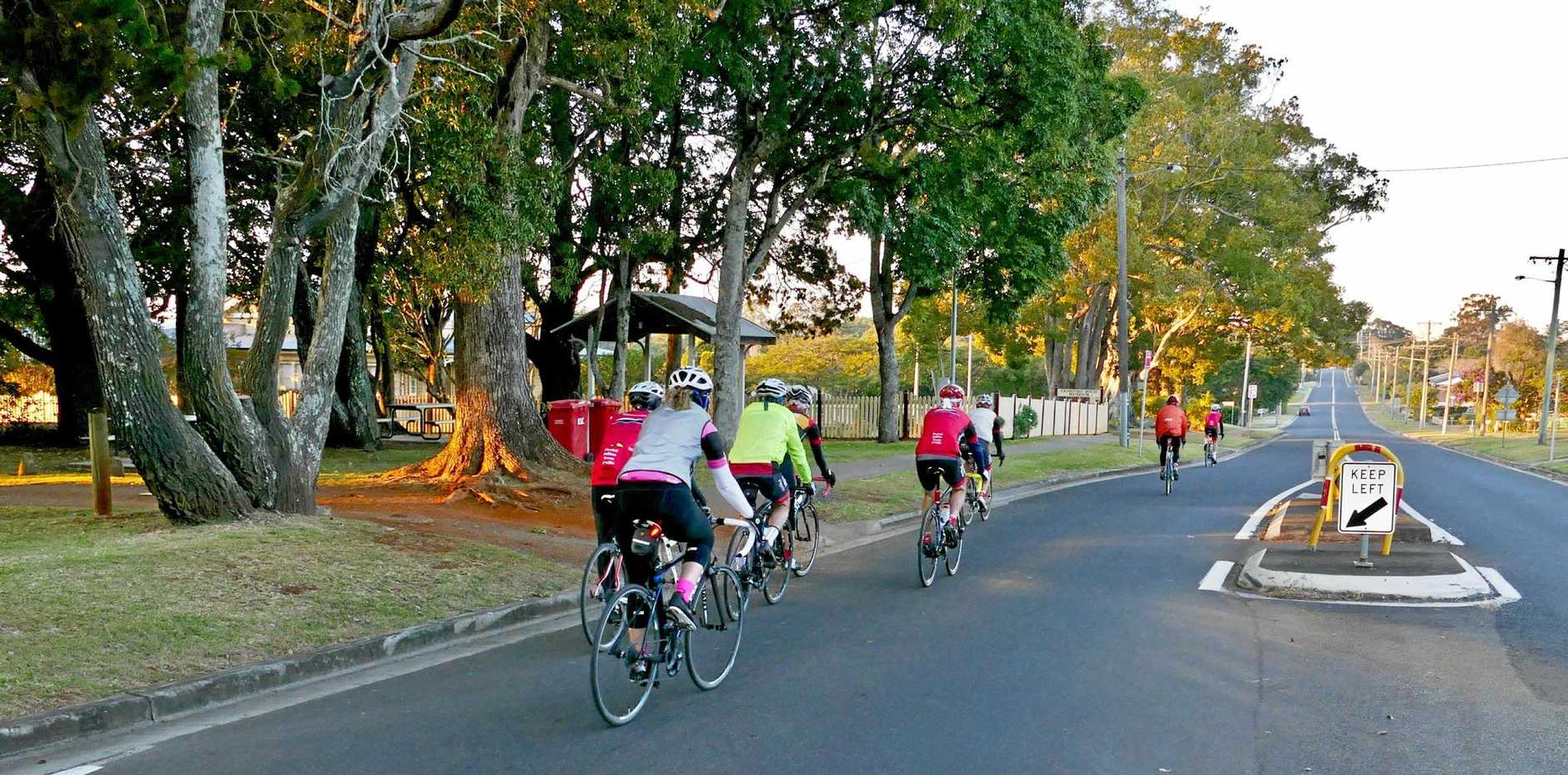 LIGHTS CAMERA ACTION: Bike lights with camera are being used by Northern Rivers cyclists to provide evidence of road rage by aggressive drivers. Like car owners using dashboardcams, the cyclists are hoping poor driving behaviour can be curtailed.