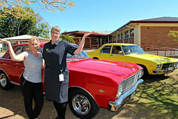 ON SHOW: Organisers  Deb O'Brien and Ann-Louise Adams can't wait to see who has the flashest wheels.