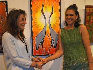 Art show promotes culture