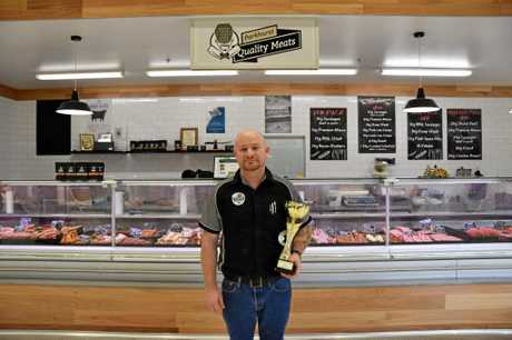 Reg Brook, Parkhurst Quality Meats owner, has claimed the title of Queensland's Sausage King at the Ekka.