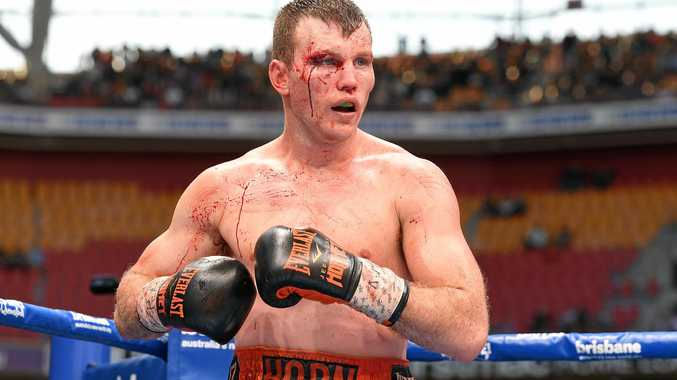 Jeff Horn would love to be the first man to defeat Mayweather.